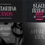 All In One 50 Fonts Collection75