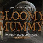 Gloomy Mummy Font1